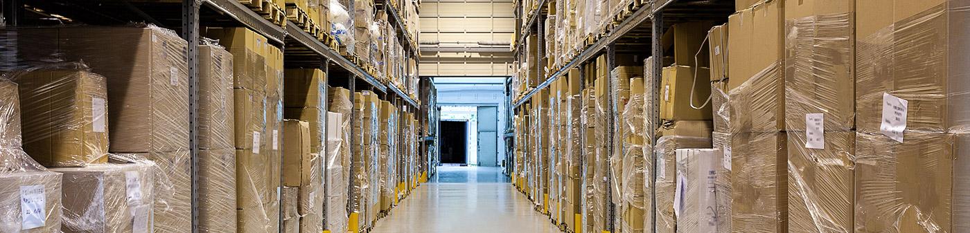 Hochregale - Optik der Webseite IndustrialPort.