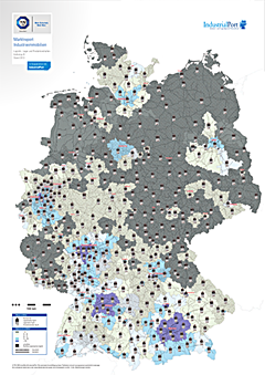 Heatmap Marktreport Industrieimmobilien 2013 - IndustrialPort