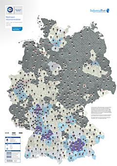 Heatmap Marktreport Industrieimmobilien 2014 - IndustrialPort