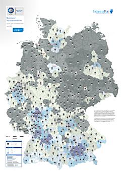 Heatmap Marktreport Industrieimmobilien - IndustrialPort