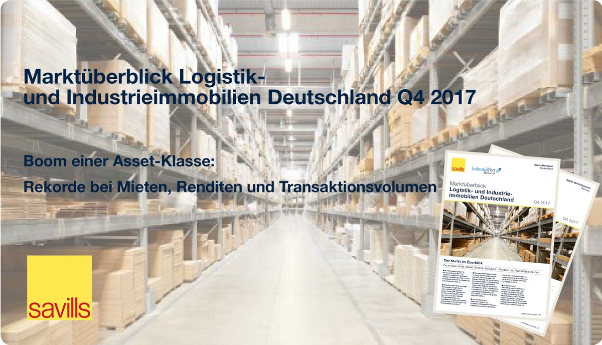 logistik und industrieimmobilienmarkt deutschland q4 2017. Black Bedroom Furniture Sets. Home Design Ideas