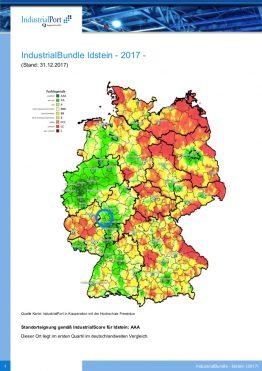 Aktuelle Heatmap für Idstein von IndustrialPort.